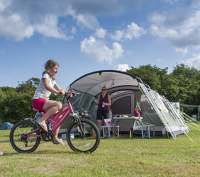 Top campsites for a family cycling holiday in the UK