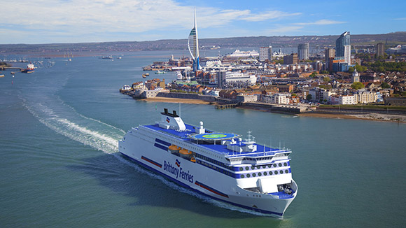 Win a ferry trip to France