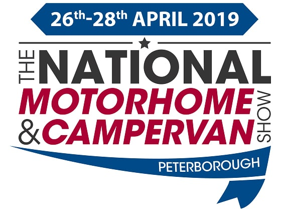 The National Motorhome Show, Peterborough 2019