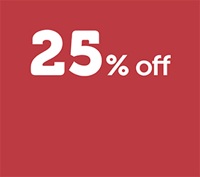 25% off Mid-Week camping*