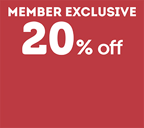 20% off Age Concession*