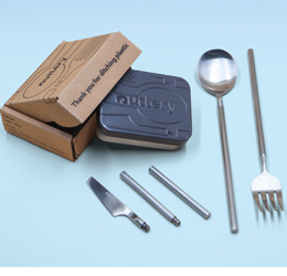 Save 20% off Outlery Collapsible Cutlery
