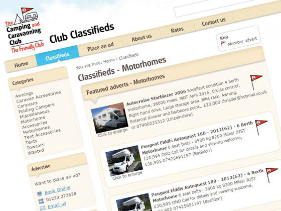 Online Club Classifieds