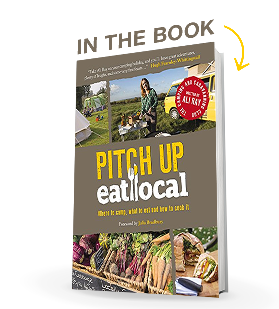 Pitch up and eat local - ISBN:978-0749577087