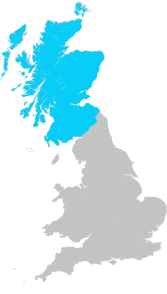 scotland uk map