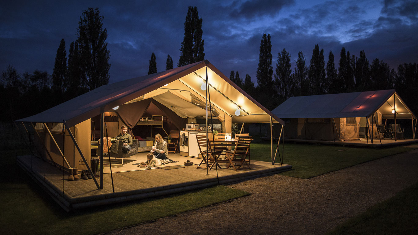 scroll to find out more & Ready Camp - Glamping Holidays Around the UK