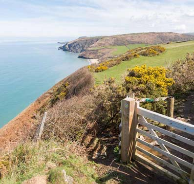Cardigan Bay, Glamping in Wales